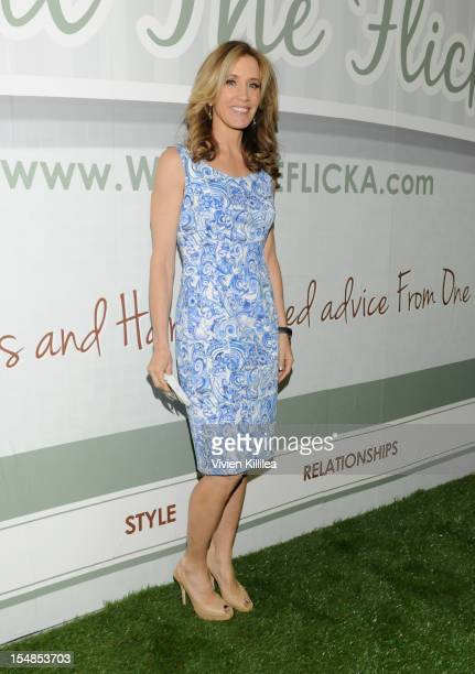Actress Felicity Huffman attends Los Angeles Women's Expo Day 1 at Los Angeles Convention Center on October 27 2012 in Los Angeles California