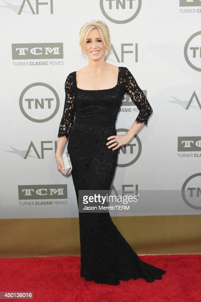 Actress Felicity Huffman attends the 2014 AFI Life Achievement Award: A Tribute to Jane Fonda at the Dolby Theatre on June 5, 2014 in Hollywood,...