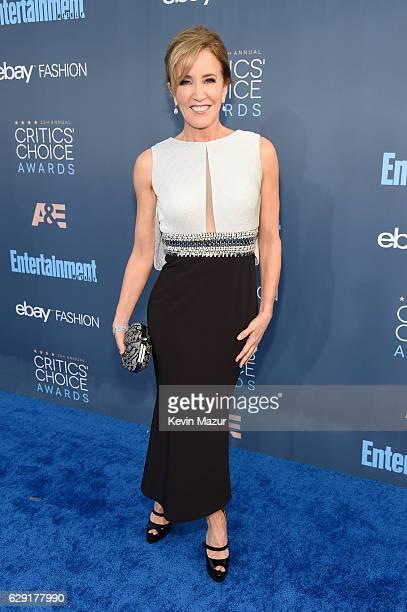 Actress Felicity Huffman attends The 22nd Annual Critics' Choice Awards at Barker Hangar on December 11 2016 in Santa Monica California