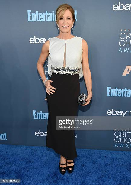 Actress Felicity Huffman attends The 22nd Annual Critics' Choice Awards at Barker Hangar on December 11 2016 in Santa Monica California