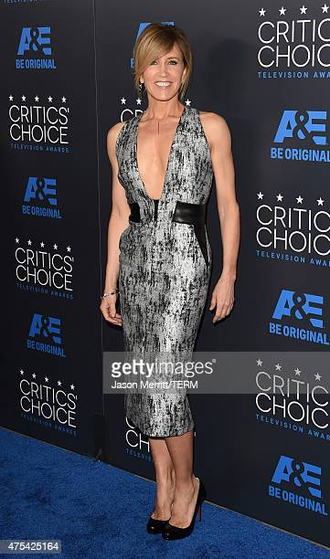 Actress Felicity Huffman attends the 5th Annual Critics' Choice Television Awards at The Beverly Hilton Hotel on May 31 2015 in Beverly Hills...