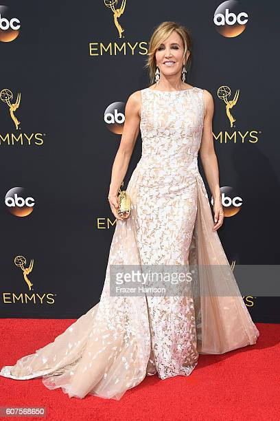 Actress Felicity Huffman attends the 68th Annual Primetime Emmy Awards at Microsoft Theater on September 18 2016 in Los Angeles California