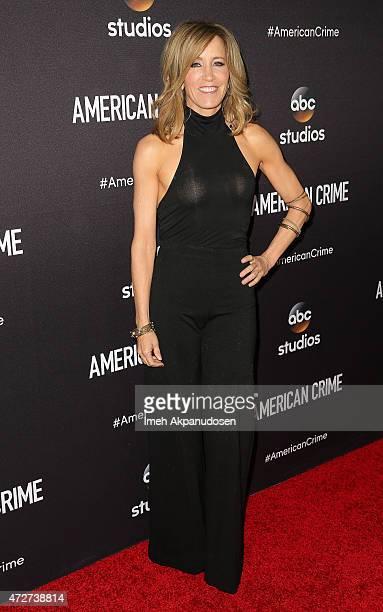 Actress Felicity Huffman attends the 'American Crime' ATAS special screening at Walt Disney Studios on May 8 2015 in Burbank California
