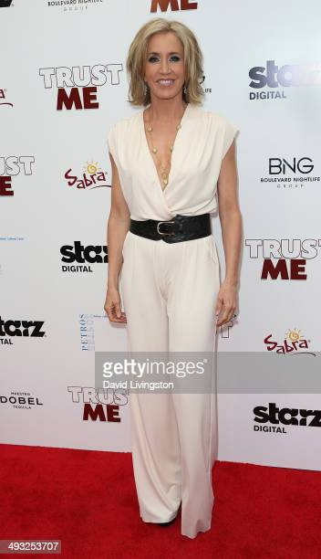 Actress Felicity Huffman attends the Los Angeles premiere of 'Trust Me' at the Egyptian Theatre on May 22 2014 in Hollywood California