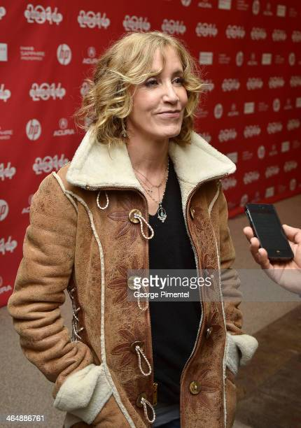 Actress Felicity Huffman attends the premiere of 'Rudderless' at the Eccles Center Theatre during the 2014 Sundance Film Festival on January 24 2014...