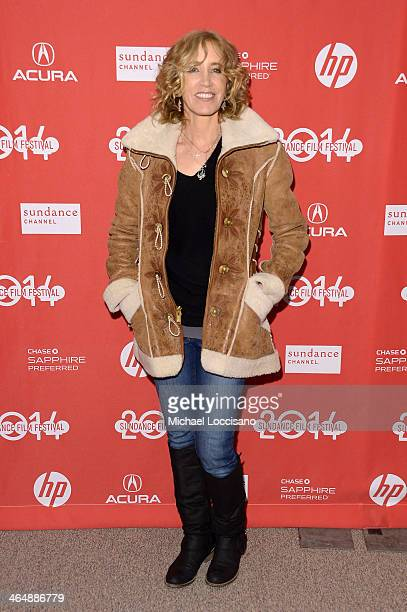 Actress Felicity Huffman attends the premiere of Rudderless at the Eccles Center Theatre during the 2014 Sundance Film Festival on January 24 2014 in...