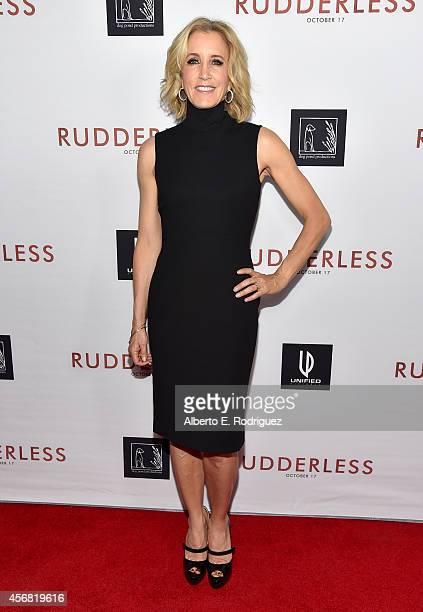 Actress Felicity Huffman attends the Screening Of Samuel Goldwyn Films' 'Rudderless' at the Vista Theatre on October 7 2014 in Los Angeles California