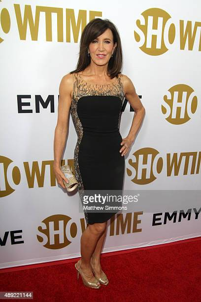 Actress Felicity Huffman attends the Showtime 2015 Emmy Eve party at Sunset Tower Hotel on September 19 2015 in West Hollywood California