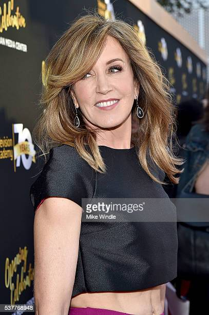 Actress Felicity Huffman attends the Television Academy's 70th Anniversary Gala on June 2 2016 in Los Angeles California
