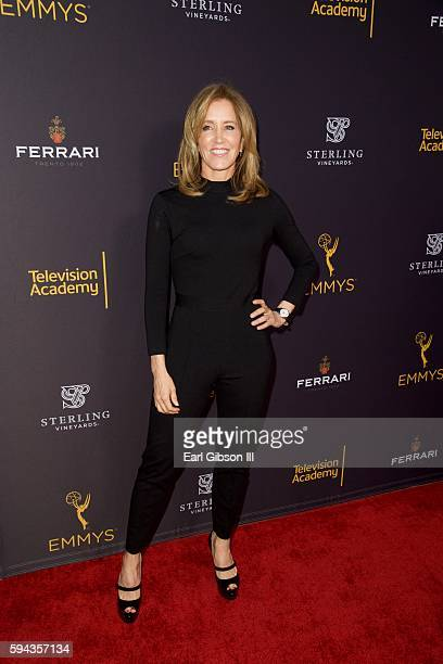 Actress Felicity Huffman attends the Television Academy's Performers Peer Group Celebration at Montage Beverly Hills on August 22 2016 in Beverly...