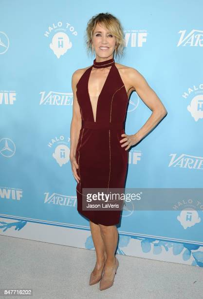 Actress Felicity Huffman attends Variety and Women In Film's 2017 preEmmy celebration at Gracias Madre on September 15 2017 in West Hollywood...