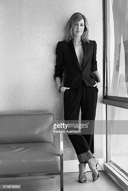 Actress Felicity Huffman is photographed for Austin Way on May 1 2015 in Los Angeles California