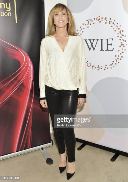 Actress Felicity Huffman poses for portrait at the Women in Entertainment and The Television Academy Foundation's Inaugural Women in Television...