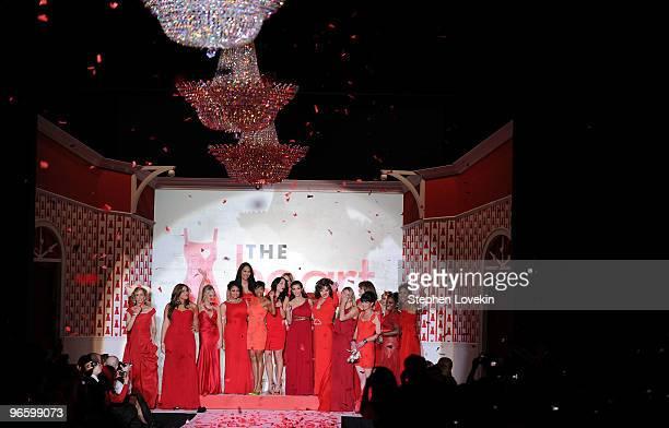 Actress Felicity Huffman, singer Jordin Sparks, actresses Kristin Chenoweth, Raven-Symone, Kimora Lee, TV personality Bethenny Frankel, actress...