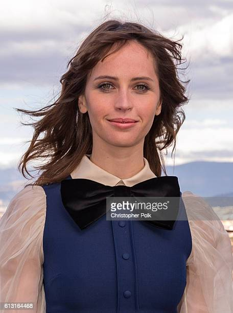 Actress Felicity Jones attends the INFERNO Photo Call at Forte di Belvedere on October 7 2016 in Florence Italy