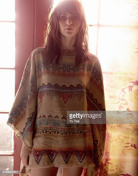 Actress Felicity Jones is photographed for In Style UK on November 15 2014 in Los Angeles California