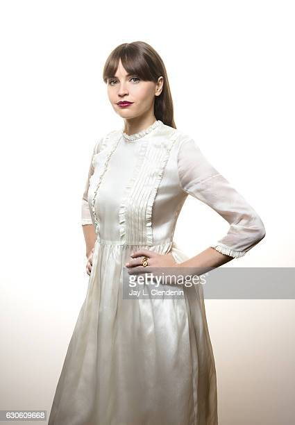 Actress Felicity Jones is photographed for Los Angeles Times on December 4 2016 in San Francisco California PUBLISHED IMAGE CREDIT MUST READ Jay L...