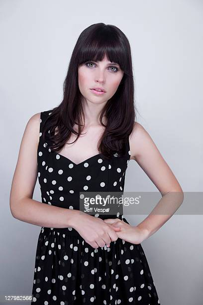 Actress Felicity Jones is photographed for Self Assignment at the Toronto Film Festival on September 13 2011 in Toronto Ontario