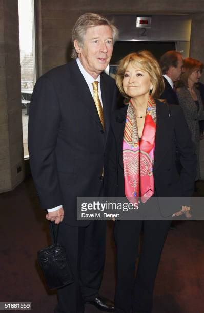 Actress Felicity Kendal and exhusband Michael Rudman attend the Evening Standard Theatre Awards at the National Theatre on December 13 2004 in...