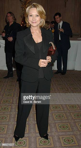 Actress Felicity Kendal attends the after show party following the opening night of Bill Kenwright's production at the Haymarket theatre of A Man For...