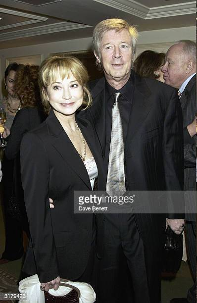 Actress Felicity Kendall and Michael Rudman attend the Evening Standard Drama Awards at the Savoy Hotel November 24th 2003 in London