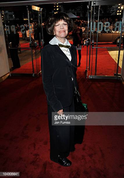 Actress Fenella Fielding attends the 'Made in Dagenham' world premiere at the Odeon Leicester Square on September 20 2010 in London England