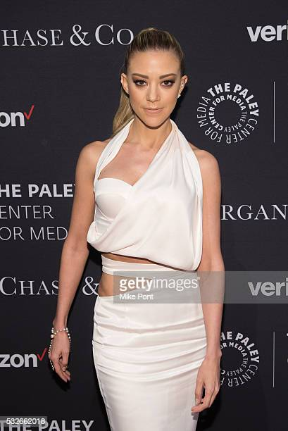 Actress Fernanda Castillo attends the 2016 Paley Center for Media's Tribute To Hispanic Achievements In Television at Cipriani Wall Street on May 18...