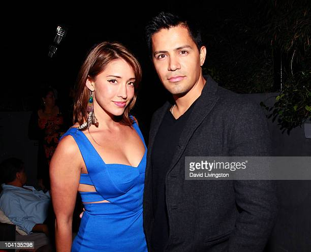 Actress Fernanda Romero and actor Jay Hernandez attend Coca Cola's 200th Anniversary of Mexico's Independence Celebration at W Hollywood on September...