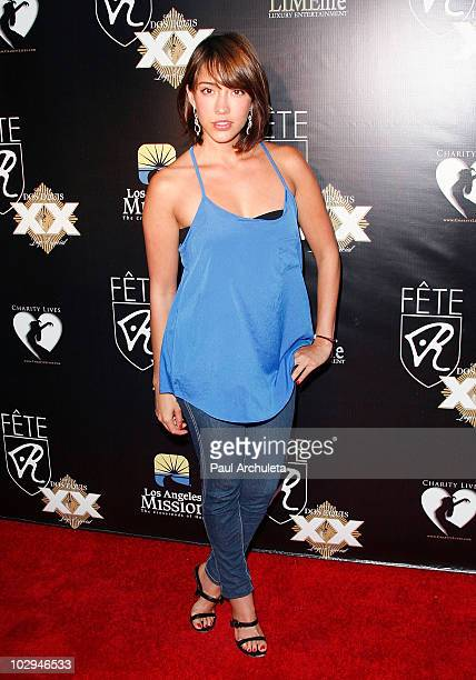 Actress Fernanda Romero arrives at the 2010 HollyShorts film festival FETE Networking Event at The Kress on July 16 2010 in Hollywood California