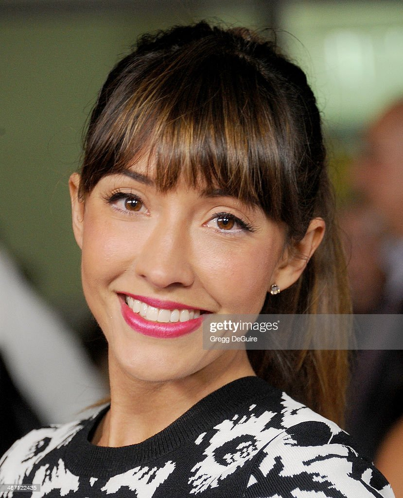 Actress Fernanda Romero arrives at the Los Angeles premiere of 'Cavemen' at ArcLight Hollywood on February 5, 2014 in Hollywood, California.