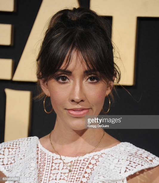 Actress Fernanda Romero arrives at the premiere of Universal Pictures' The Great Wall at TCL Chinese Theatre IMAX on February 15 2017 in Hollywood...