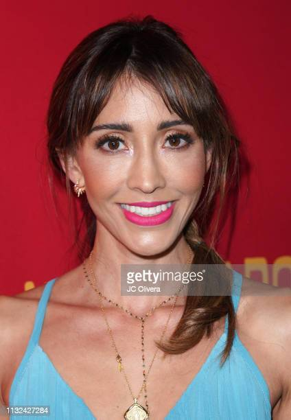 Actress Fernanda Romero attends 'HE MATADO A MI MARIDO' Los Angeles Premiere at Harmony Gold Theatre on February 26 2019 in Los Angeles California