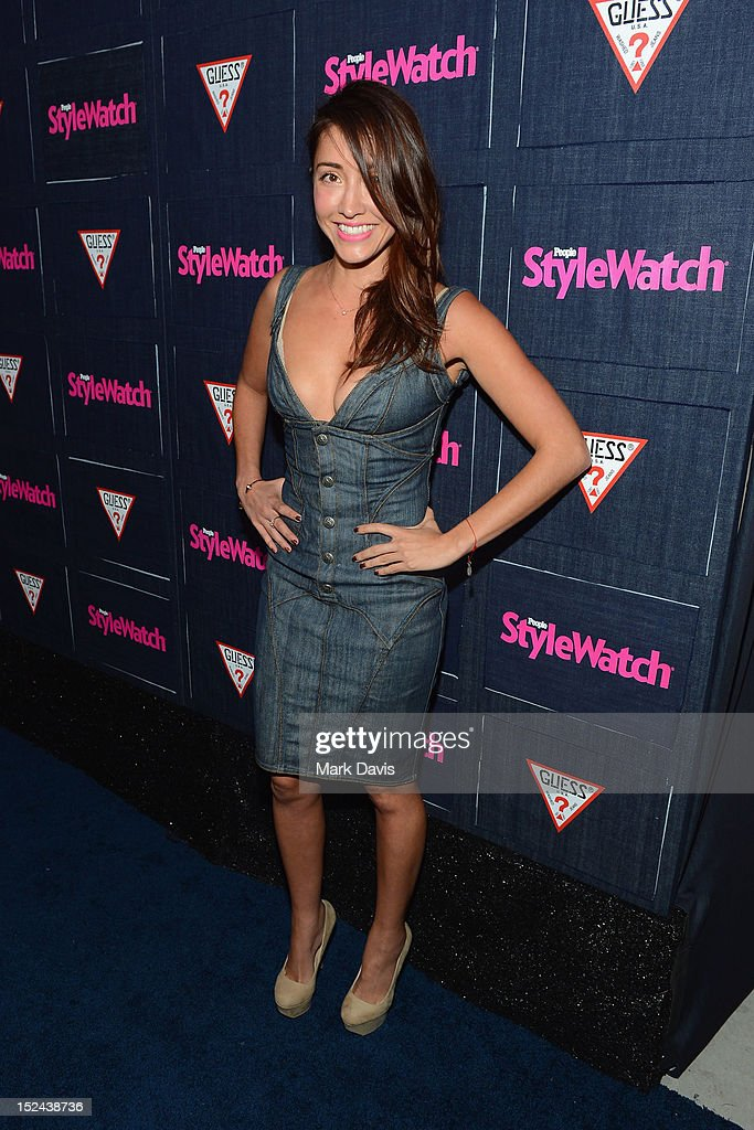 Actress Fernanda Romero attends People StyleWatch Hollywood Denim Party at Palihouse on September 20, 2012 in Santa Monica, California.
