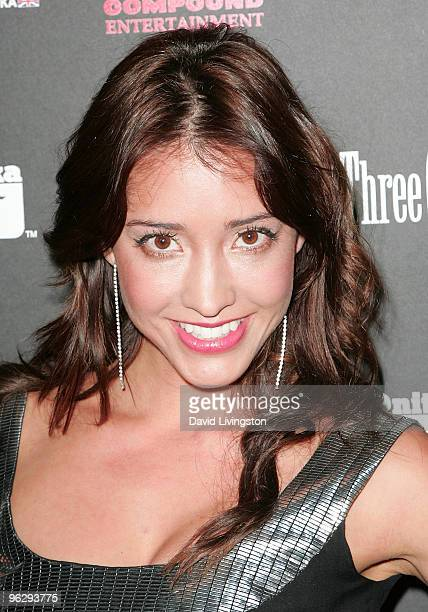 Actress Fernanda Romero attends the 3rd Annual Midnight GRAMMY Brunch hosted by NeYo at W Hollywood Hotel Residences on January 30 2010 in Hollywood...