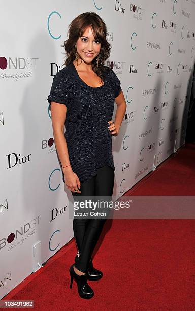 """Actress Fernanda Romero attends the after party for the premiere of """"The Burning Plain"""" held at the Thompson Hotel on September 14, 2009 in Beverly..."""