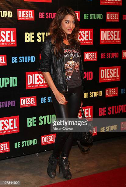 Actress Fernanda Romero attends the Diesel Be Stupid Party at General Prim on December 2 2010 in Mexico City Mexico