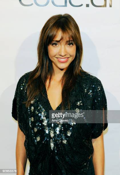 Actress Fernanda Romero attends the Launch Party For codeai At Fred Segal Studio Beautymix on November 5 2009 in Santa Monica California