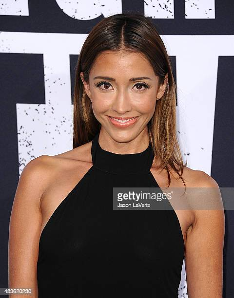 Actress Fernanda Romero attends the premiere of Straight Outta Compton at Microsoft Theater on August 10 2015 in Los Angeles California