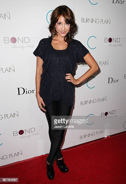 Actress Fernanda Romero attends the premiere of The Burning Plain at Thompson Hotel on September 14 2009 in Beverly Hills California