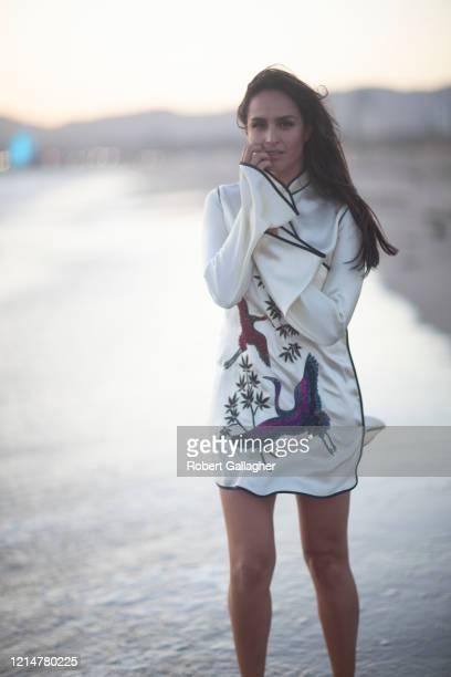 Actress Fernanda Urrejola is photographed for Ya Magazine on May 13, 2018 in Santa Monica, California.