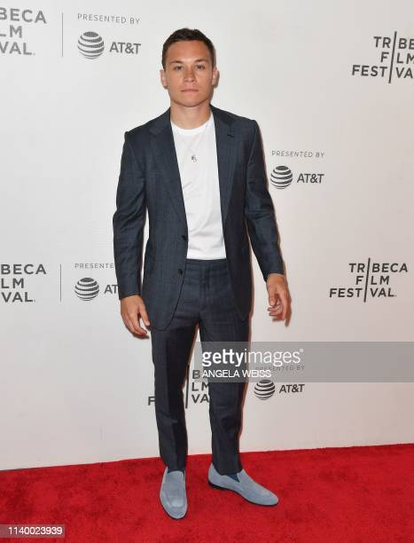 Actress Finn Cole attends the Dreamland world premiere during the 2019 Tribeca Film Festival at BMCC Tribeca PAC on April 28 2019 in New York City