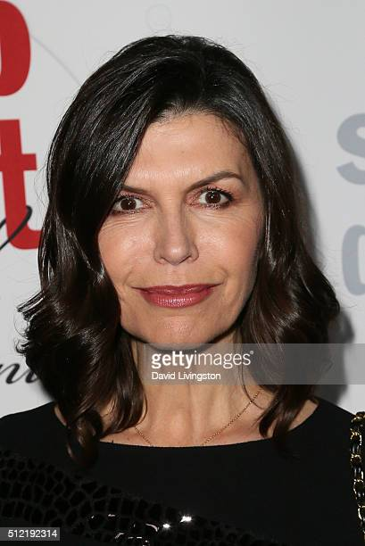 Actress Finola Hughes arrives at the 40th Anniversary of the Soap Opera Digest at The Argyle on February 24 2016 in Hollywood California