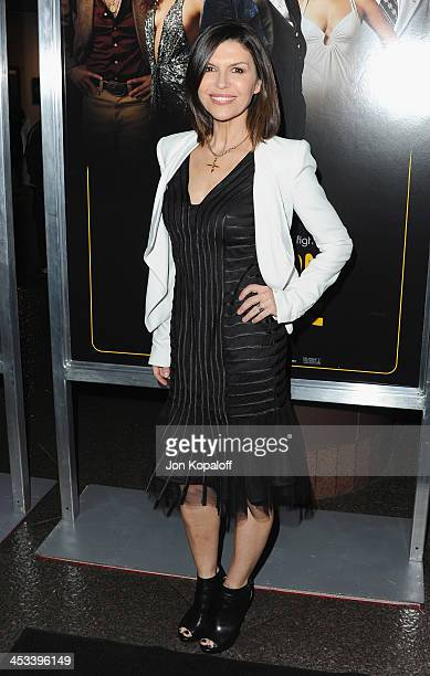 Actress Finola Hughes arrives at the Los Angeles Premiere 'American Hustle' at Directors Guild Theatre on December 3 2013 in West Hollywood California