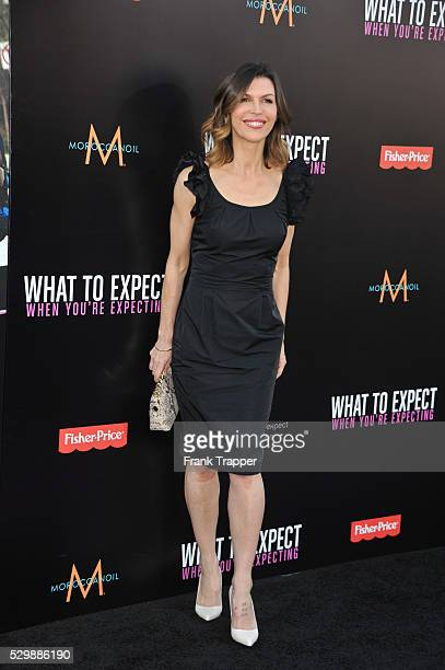 Actress Finola Hughes arrives at the premiere of What To Expect When Your Expecting premiere held at Grauman's Chinese Theater