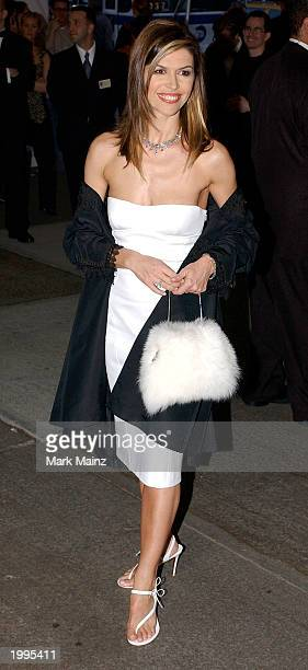 Actress Finola Hughes arrives for 'Goddess Costume Institute Benefit Gala' at the Metropolitan Museum of Art Costume April 28 2003 in New York City