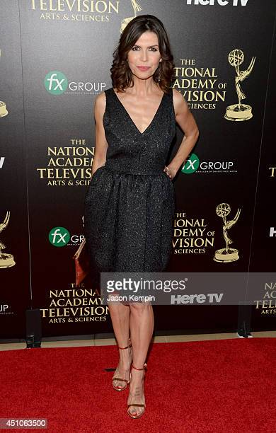 Actress Finola Hughes attends The 41st Annual Daytime Emmy Awards at The Beverly Hilton Hotel on June 22 2014 in Beverly Hills California