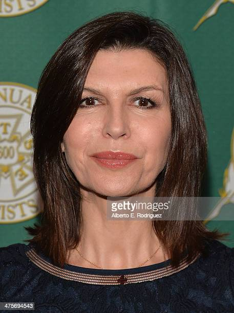 Actress Finola Hughes attends the International Cinematographers Guild Presents The 51st Annual Publicists Awards Luncheon at Regent Beverly Wilshire...