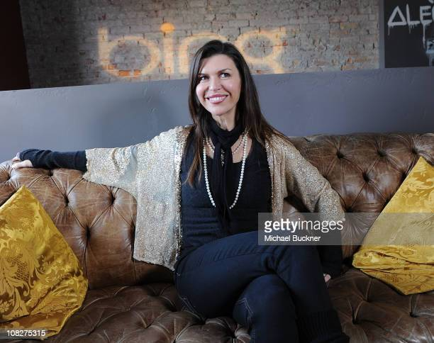 Actress Finola Hughes attends the 'Like Crazy' Press Junket at Bing Bar on January 23 2011 in Park City Utah