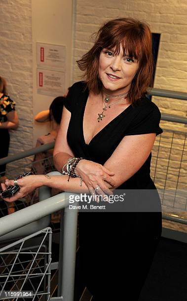 Actress Finty Williams attends an afterparty following Press Night of Mike Poulton's new production of 'Luise Miller' at The Donmar Warehouse on June...