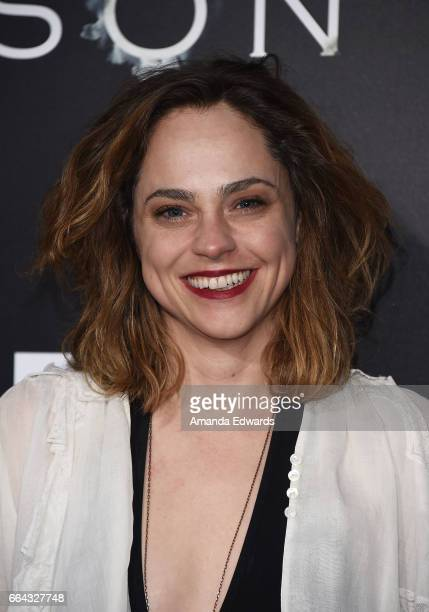 Actress Fiona Dourif arrives at the premiere of AMC's The Son at ArcLight Hollywood on April 3 2017 in Hollywood California